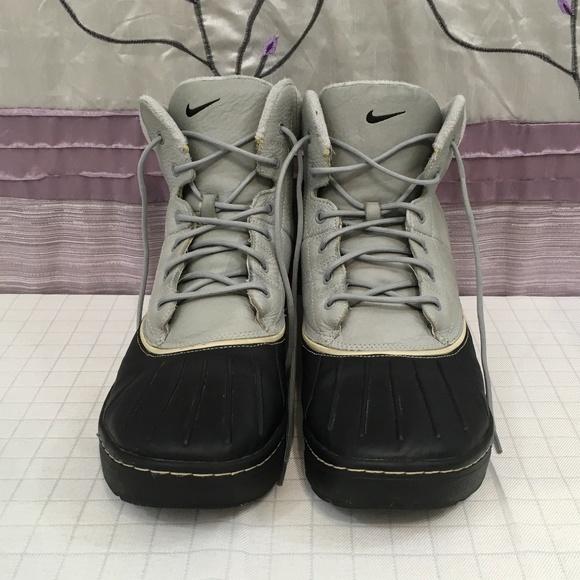 0d2cbee8da1 Nike ACG Woodside Gray & Black Shoes: Size 14
